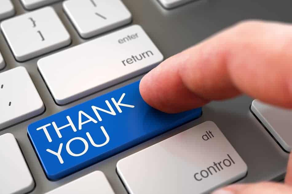 Acknowledgements Example for an Academic Research Paper